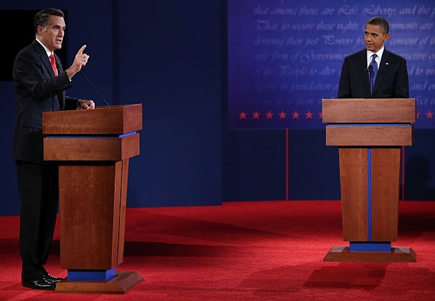 Obama And Romney - Getty Images