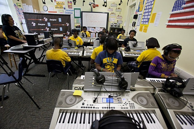 Music School - Skip Bolen/Getty Images