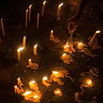 Candles - Chris McGrath/Getty Images