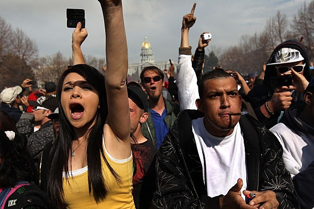 U.S. Marijuana Enthusiasts - Getty Images