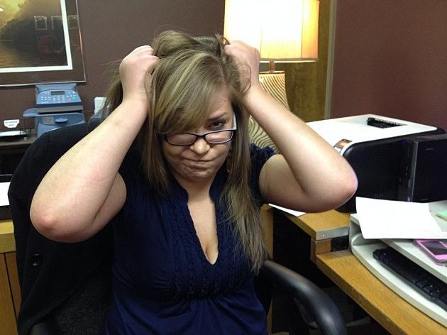 Frustrated Secretary - Sarah Dahill Rock 96.7
