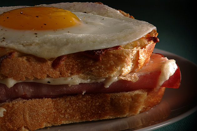SOS, Croque Madame sandwich on MARCH 11, 2010.